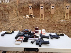 National shooters sample program allows shooters to rent up to five firearms to test fire in Northern Viginia