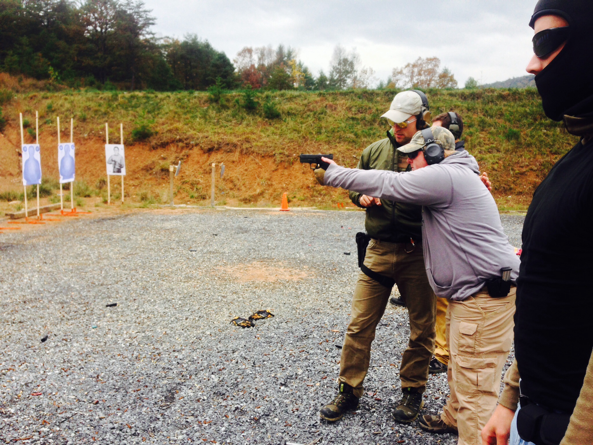 Conceal Carry Training Day With National Shooters At An