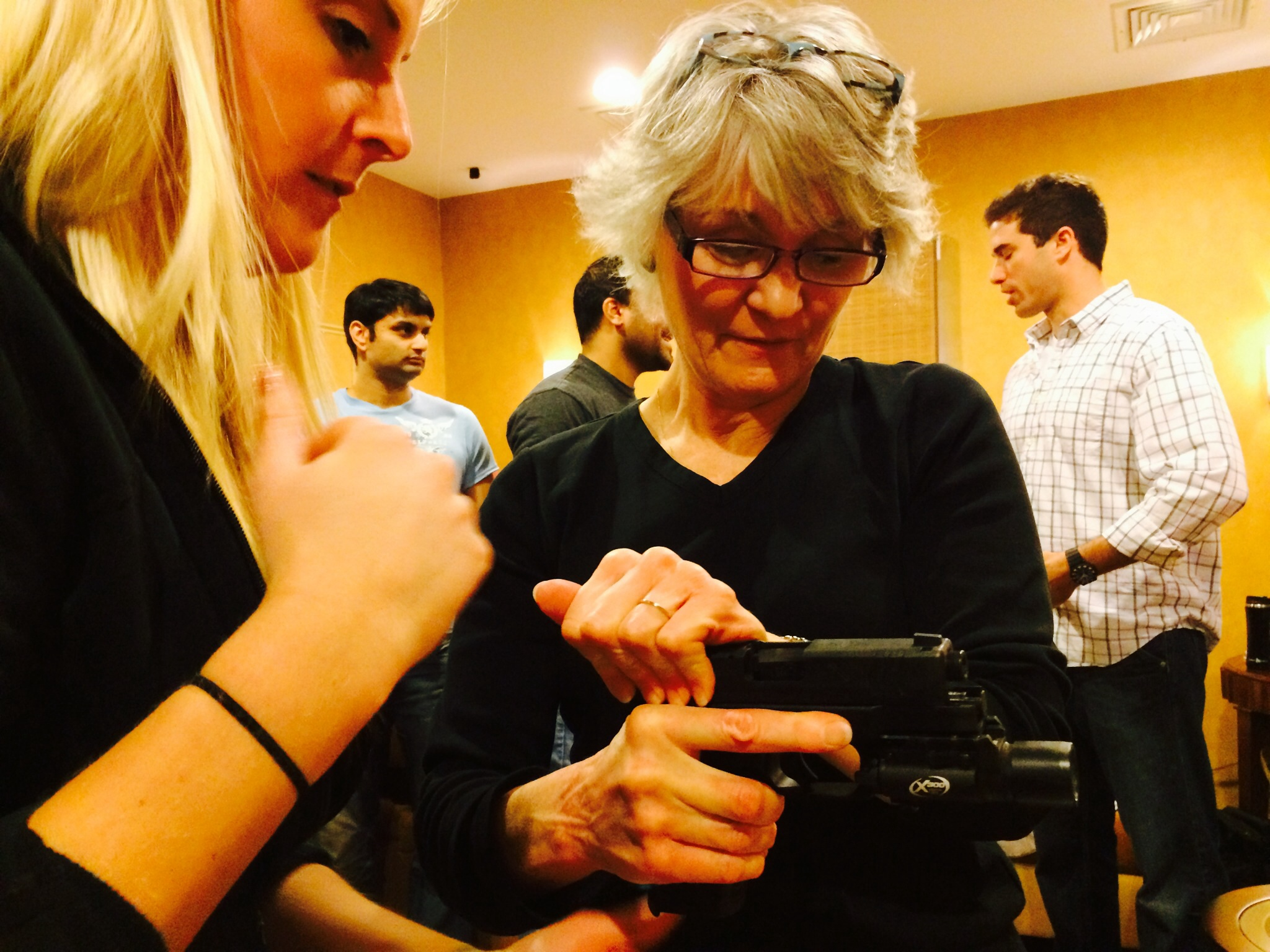 Firearms training requires professional care and ...